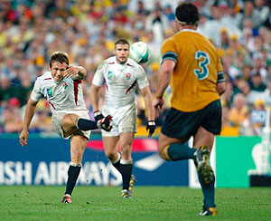 Jonny Wilkinson's 'THAT DROP GOAL' - AP Photo/PA, David Davies