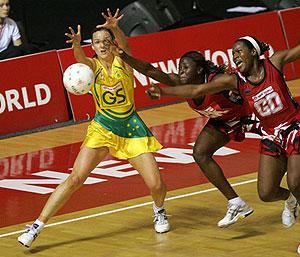 Australia's Sharelle McMahon Netball World Championships - AAP Image/Photosport