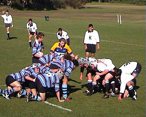 Sydney High Rugby 2003. Photo from the High Rugby Friends website