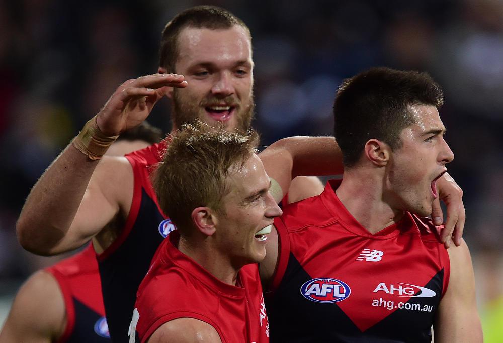 Max Gawn Bernie Vince Alex Neal-Bullen Melbourne Demons AFL 2015