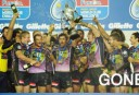 Melbourne Storm celebrate. AAP Images