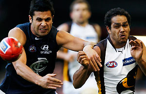 Carlton vs Hawthorn.