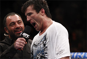 Chael Sonnen attempting WWE in UFC