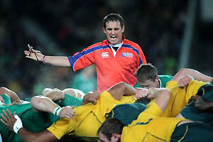 Bryce Lawrence, match referee. (AAP Images)