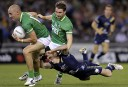 international rules: Australia vs Ireland. AAP Images