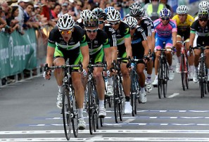 GreenEDGE riders in the 2012 National Road Championships (AAP Image)