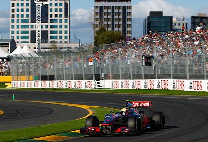 2012 Australian Formula 1 Grand Prix: McLaren's Lewis Hamilton