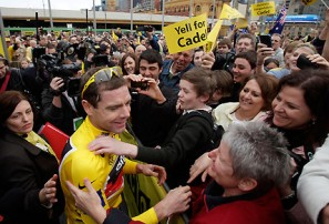 I like Cadel Evans, and I'll tell you why
