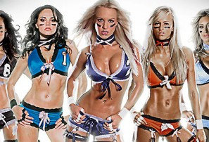 Blood, sweat and leers: a night at Lingerie Football