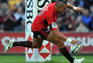 Fruean on fire as Crusaders win in shootout over Tahs