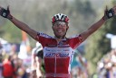 Spain's Joaquim Rodriguez Oliver of the Katusha team. AP Photo/Yves Logghe
