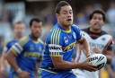 Jarryd Hayne in action for the Eels. AAP Image/Action Photographics, Renee McKay