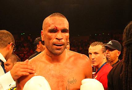 Boxer Anthony Mundine