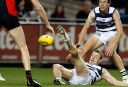 Geelong versus Essendon should be at the MCG