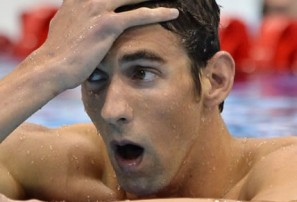 Phelps brilliant, but another goldless Aussie day in London