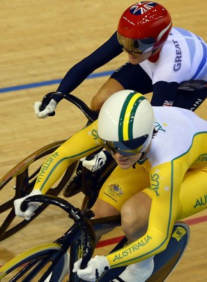 Women's track sprint final: Anna Meares vs Victoria Pendleton – live blog