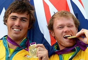 A fifth Olympic gold as the Australian sailors take control