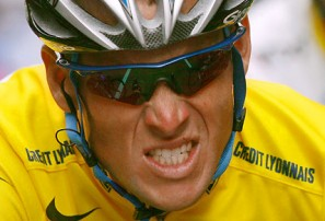 Lance Armstrong is a victim of society