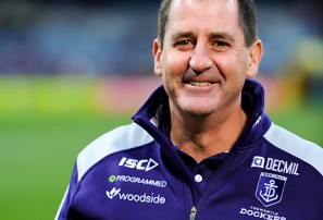Ross Lyon and Fremantle sowing the seeds of premiership glory