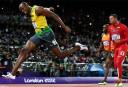 Usain Bolt breaks down in final race