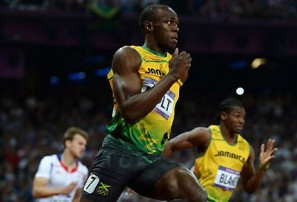 Usain Bolt sets a new Olympic benchmark