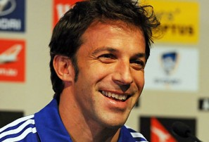 Del Piero embraces the pressure
