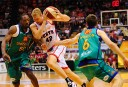 Wildcats forward Shawn Redhage in action in the NBL.