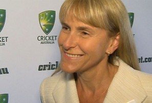 Jacquie Hey breaks the gender barrier, but is it business or cricket?