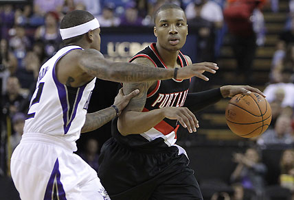 Portland Trail Blazers guard Damian Lillard. AP Photo/Rich Pedroncelli