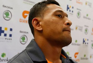 Folau a fish back in water