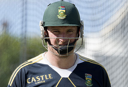 South African captain Graeme Smith. AAP Image/Dave Hunt
