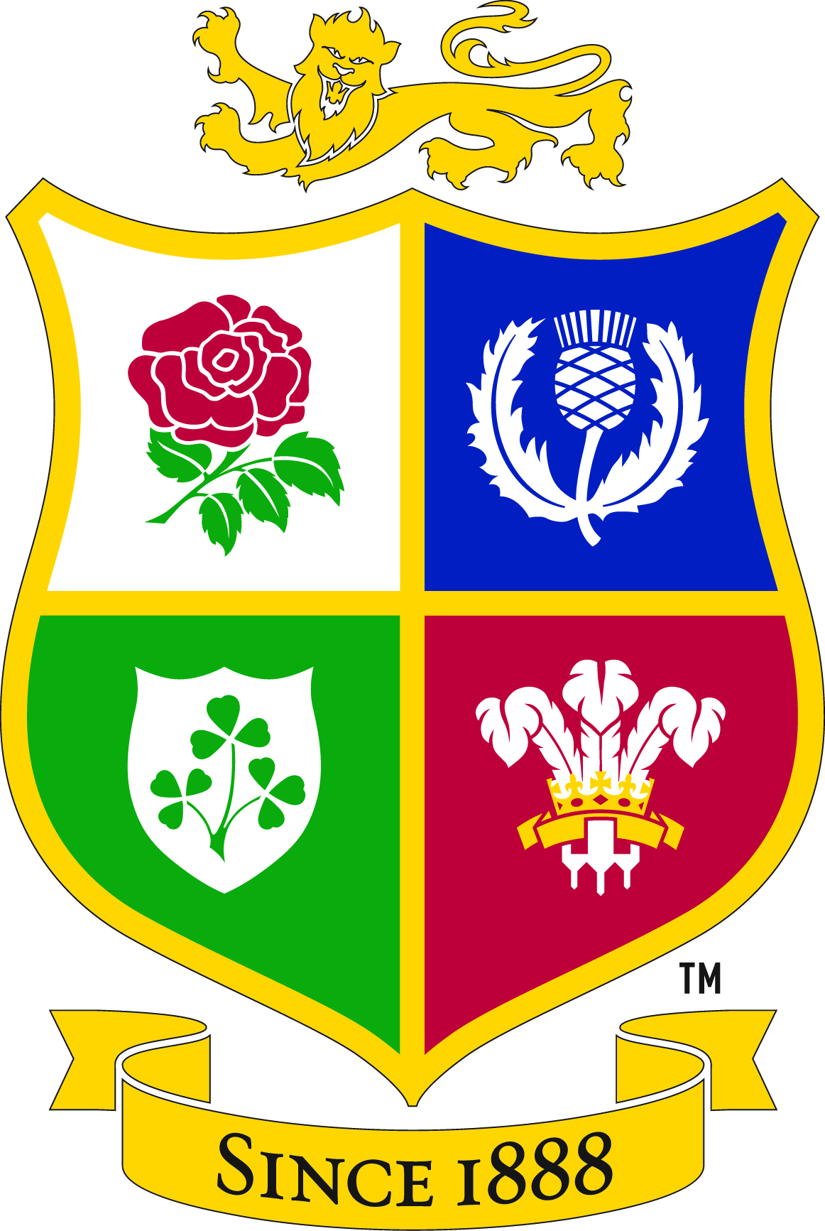 british & irish lions crest