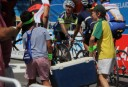 Aussies enjoying Australia Day at the Tour Down Under 2013