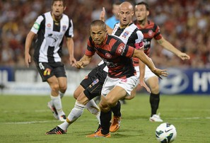 Wanderers beat Jets, go 2nd in A-League