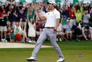 My Sunday at Augusta with Adam Scott