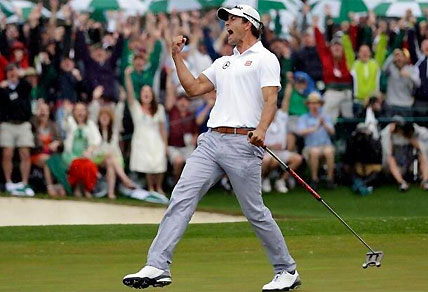 Adam Scott wins the 2013 US Masters. (Image: AFP)