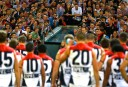 The Melbourne Demons face an angry crowd <br /> <a href='http://www.theroar.com.au/2013/04/08/melbourne-football-club-rotten-to-the-core/'>Melbourne Football Club: rotten to the core</a>