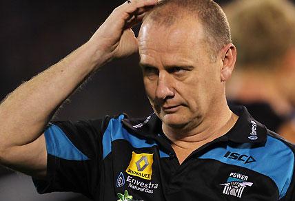 Port Adelaide coach Ken Hinkley