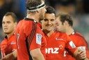 Dan Carter leads the Crusaders to a win