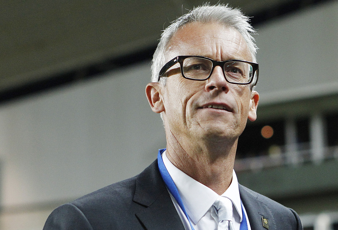 David Gallop, head of the FFA. (Photo by Paul Barkley/LookPro)