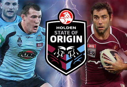COMETH the hour, cometh Queensland's champions.