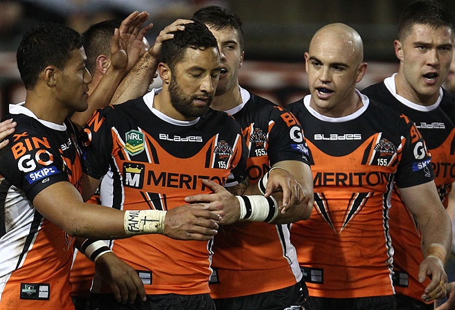 Benji Marshall. (AAP Image/Action Photographics, Colin Whelan)
