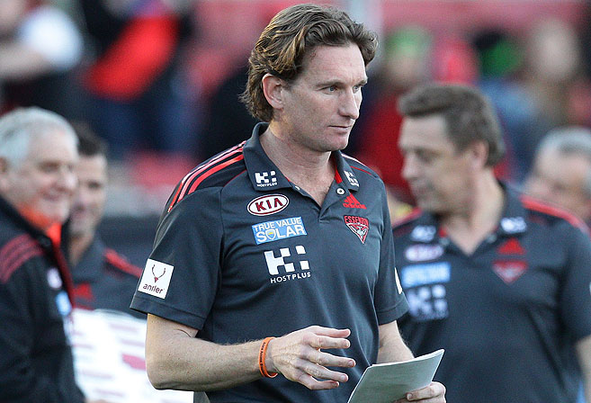 James Hird. Photo: Craig Golding