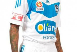 Sky blue Melbourne Victory kit causes uproar