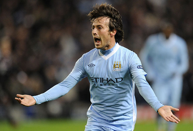 Attacking midfielder David Silva will again be crucial for Manchester City.