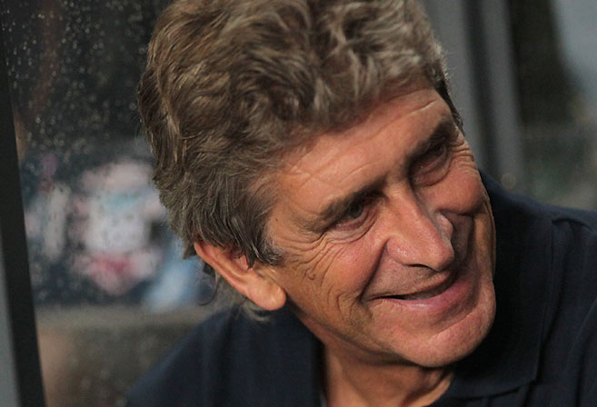 New Manchester City boss Manuel Pellegrini