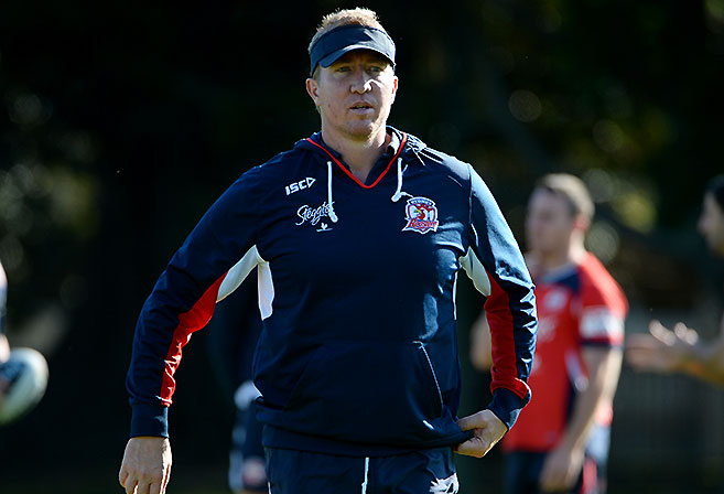 Trent Robinson - coach of the Roosters