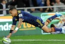 Aaron Smith of the Highlanders <br /> <a href='http://www.theroar.com.au/2014/04/11/highlanders-vs-bulls-super-rugby-live-scores-blog/'>Highlanders vs Bulls: Super Rugby live scores, blog</a>