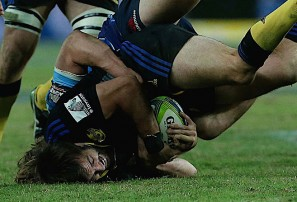 The beauty and destruction of a dominant tackle