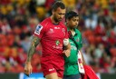 Quade Cooper of the Reds